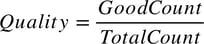 Quality Formula
